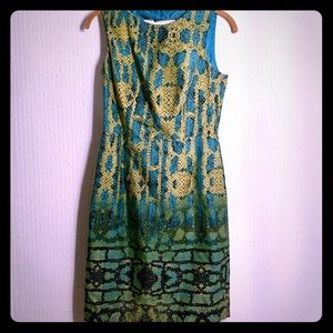Muse snake skin dress